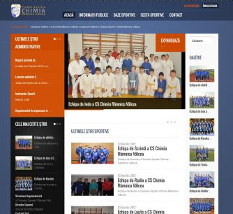 Chimia Sport Club Website