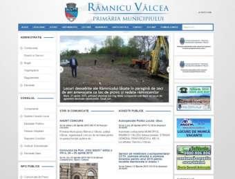 Website Ramnicu Valcea City Hall